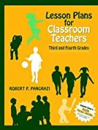 Lesson Plans for Classroom Teachers: Third…