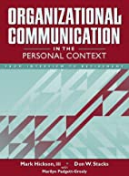 Organizational Communication in the Personal…