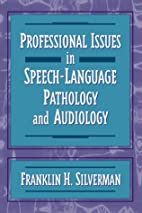 Professional Issues in Speech-Language…