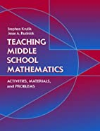 Teaching Middle School Mathematics:…