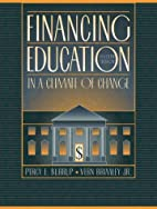 Financing Education in a Climate of Change…
