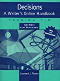 Rosen, Leonard J.: Decisions: A Writer's Online Handbook, Version 1.0 for Windows