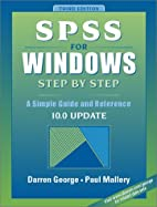 SPSS for Windows Step by Step: A Simple…