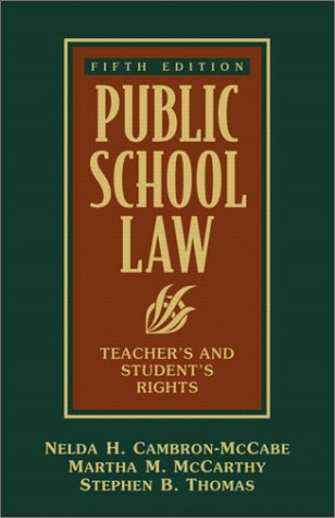 public-school-law-teachers-and-students-rights-5th-edition