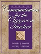 Communication for the Classroom Teacher (7th…