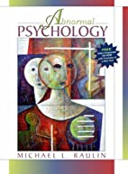 Abnormal Psychology, with Client Snapshots…