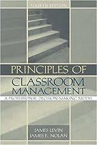 Principles of Classroom Management: A…