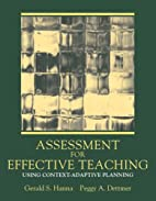 Assessment for Effective Teaching: Using…