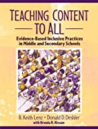 Teaching Content to All: Evidence-Based…