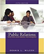 Public Relations Writing and Media…