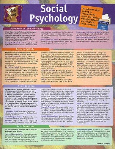 social-psychology-study-card