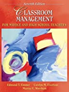 Classroom Management for Middle and High…