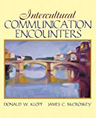 Intercultural Encounters by Donald W. Klopf