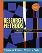 Research Methods: A Process of Inquiry (6th…