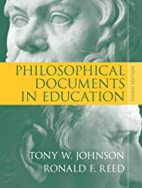 Philosophical Documents in Education (3rd…
