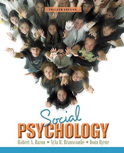 social-psychology-12th-edition