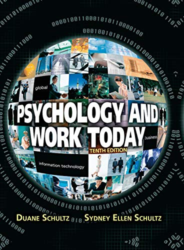 psychology-and-work-today-10th-edition