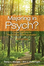 Majoring in Psych?: Career Options for…