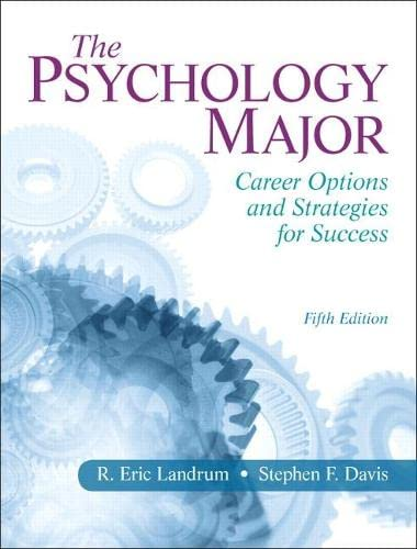 the-psychology-major-career-options-and-strategies-for-success-5th-edition