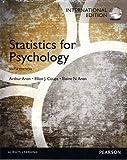 Aron, Arthur: Statistics for Psychology