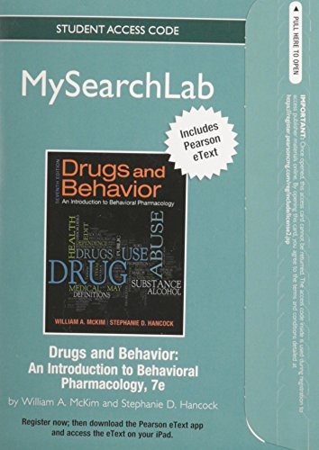 mysearchlab-with-pearson-etext-standalone-access-card-for-drugs-behavior-7th-edition-mysearchlab-access-codes
