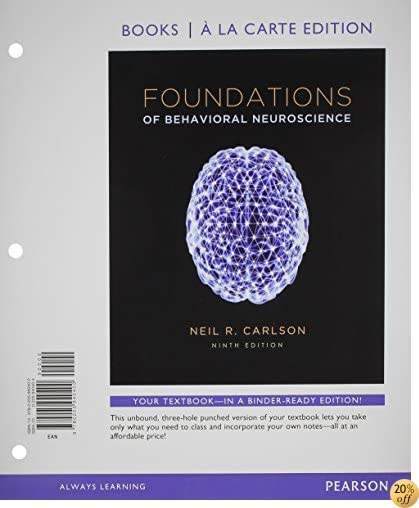 TFoundations of Behavioral Neuroscience, Books a la Carte Plus NEW MyLab Psychology  with eText -- Access Card Package (9th Edition)