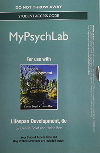 new-mypsychlab-standalone-access-card-for-lifespan-development-6th-edition