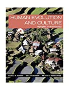 Human Evolution and Culture: Highlights of…