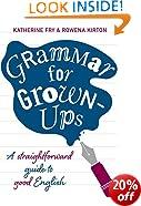 Grammar for Grown-ups