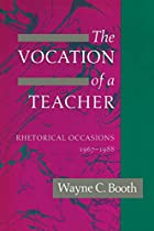 The Vocation of a Teacher: Rhetorical&hellip;