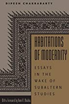 Habitations of Modernity: Essays in the Wake…