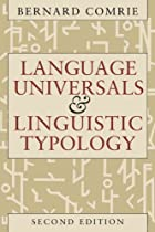 Language Universals and Linguistic Typology:…