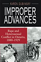 Improper Advances: Rape and Heterosexual…