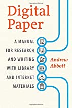 Digital Paper: A Manual for Research and…