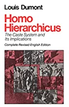 Homo Hierarchicus: The Caste System and Its…