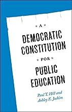 A Democratic Constitution for Public…