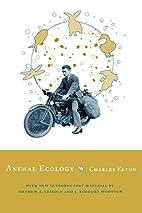 Animal Ecology by Charles S. Elton