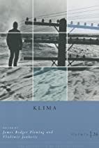 Osiris, Volume 26: Klima by James E. Fleming