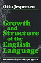 Growth and Structure of the English Language…