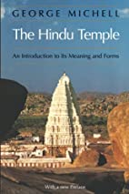 The Hindu Temple: An Introduction to Its…