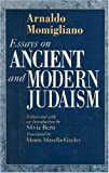Momigliano, Arnaldo: Essays on Ancient and Modern Judaism