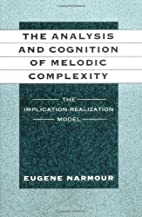 The Analysis and Cognition of Melodic…