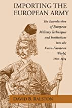 Importing the European Army: The…