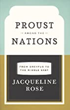 Proust among the Nations: From Dreyfus to…