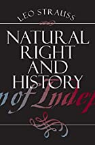 Natural Right and History by Leo Strauss