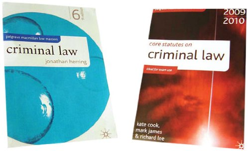 criminal-law-and-core-statutes-value-pack