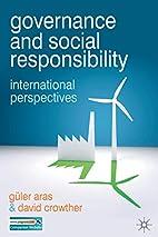 Governance and Social Responsibility:…