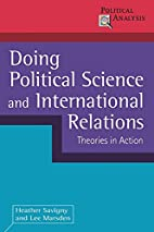 Doing Political Science and International…