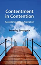 Contentment in Contention: Acceptance versus…