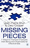 Brun, Jean- Pierre: Missing Pieces: 7 Ways to Improve Employee Well-Being and Organizational Effectiveness